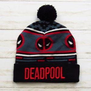 Marvel DEADPOOL Knit Hat